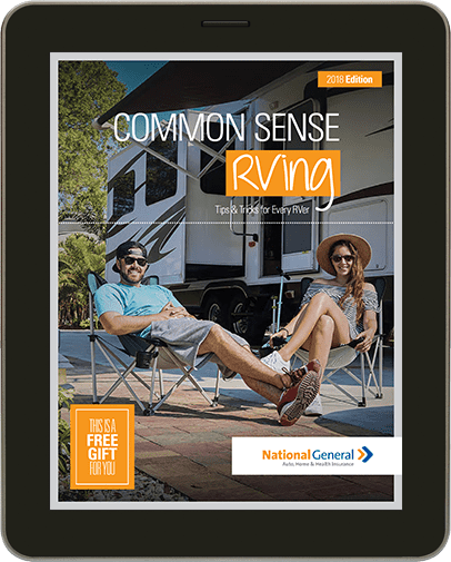 Free Common Sense RVing Guide From National General